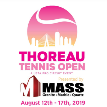 Brochure Thoreau Tennis Open 2019